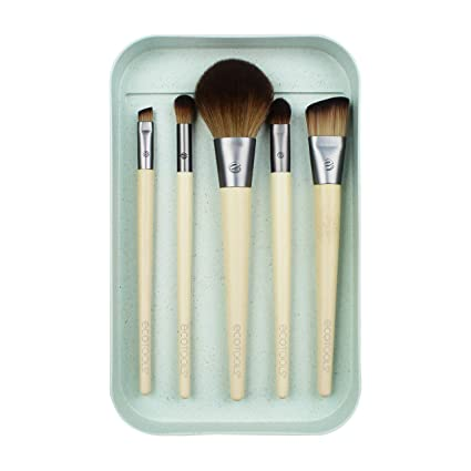 Ecotools Start the day beautifully kit - set de 5 brochas 21 g