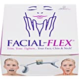 Facial Flex Facial Exercise And Neck Toning Kit Facial Flex Device, Facial Flex Bands 8 OZ & 6 OZ Packs & Carrying Case - Fda-Registered Exercise Devices For Face Lift Toning & Strengthening