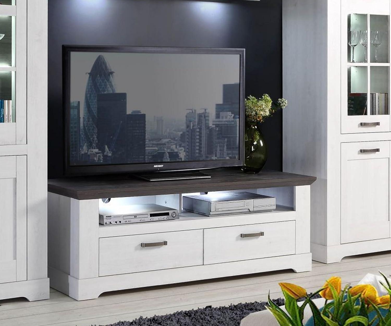 Forte Möbel - Mueble para televisor (Madera de Roble y Pino Gris ...