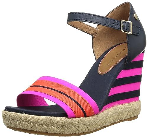 Tommy Hilfiger Emery 42d - Sandalias Mujer: Amazon.es: Zapatos y complementos