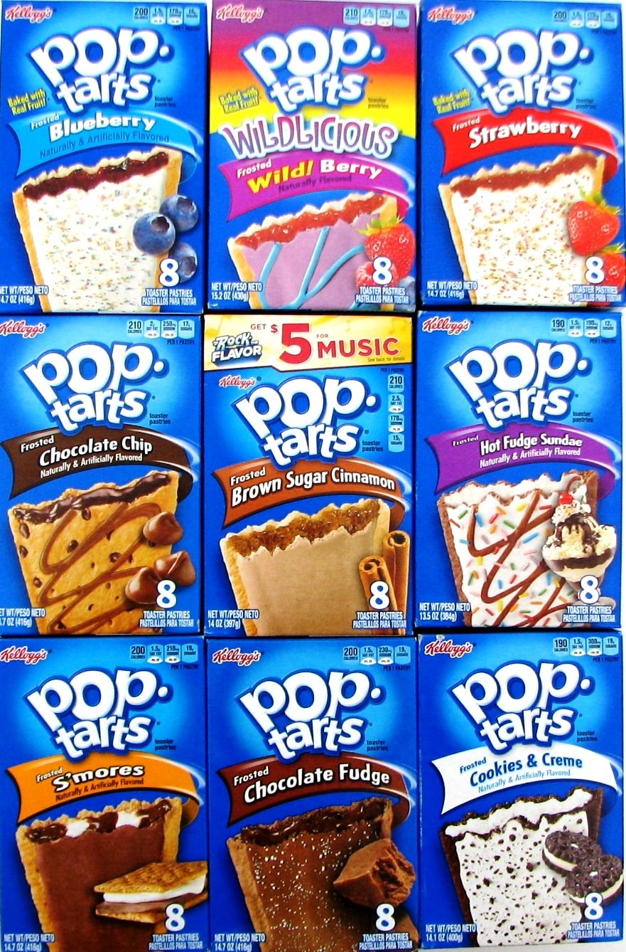 9 Pack! The Ultimate Pop Tarts Variety Pack 9 Flavors - Bundle of 9 Boxes, 1 of Each Flavor. by Narrow Path Sales (Image #6)
