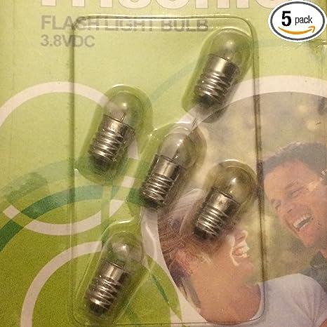 Jammas Special Small Bulb 2.4v 3.6v 4.8v6v7 2v 0.5a 0.75a Pointed Toe Small Bulb Flashlight Bulb sellwell Lighting