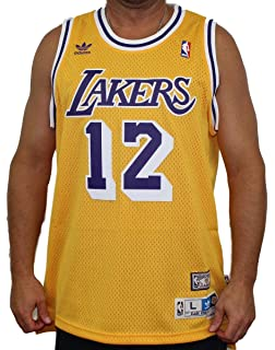 d2c1fe7dbee7 adidas Vlade Divac Los Angeles Lakers NBA Throwback Swingman Jersey - Gold