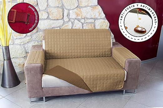 Banzaii Protector Relleno para Sofa y Sillon Funda Sofa Acolchada Cubre Sofa Reversible Salva Sofa Anti Gatos Impermeable No Sucio No Manchas 1 Plaza ...