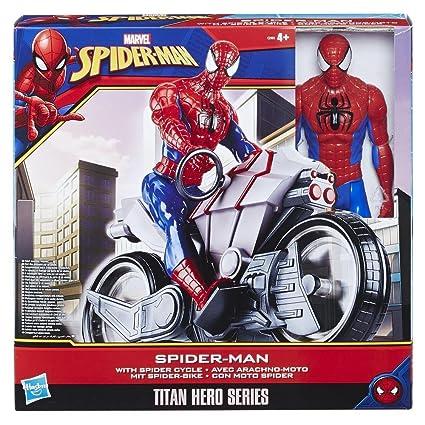 Amazon.com: Marvel Spider-Man Titan Hero Series - Figura de ...