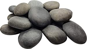 Rock Canvas Painting Rocks - Smooth Rocks for Painting Kindness Rocks, Size 1 Assorted Size and Shapes 1-3 Inch, 4lbs of Rocks/About 13-18 Rocks - Stone Perfect for Easy Painting and Creative Art