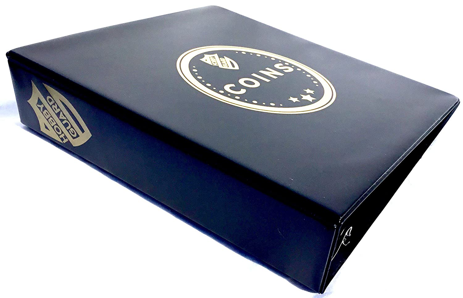 Hobby Guard Coin Collector Album Binder with 20-Pocket Pages /& Flips