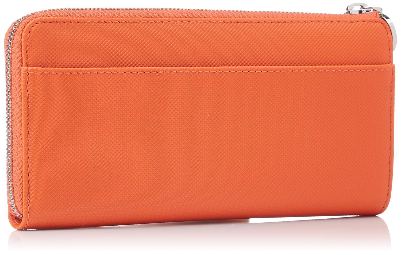 Lacoste NF2110DC - Carteras Mujer, Rojo (Rojo (Cherry Tomato 014)), 3x9.5x19 cm (W x H x L): Amazon.es: Zapatos y complementos