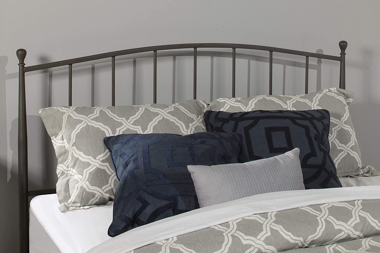 Hillsdale Furniture Warwick Bed, Gray Bronze