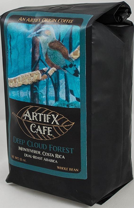 Artifx Cafe Deep Cloud Forest, Monteverde Costa Rica Coffee ...