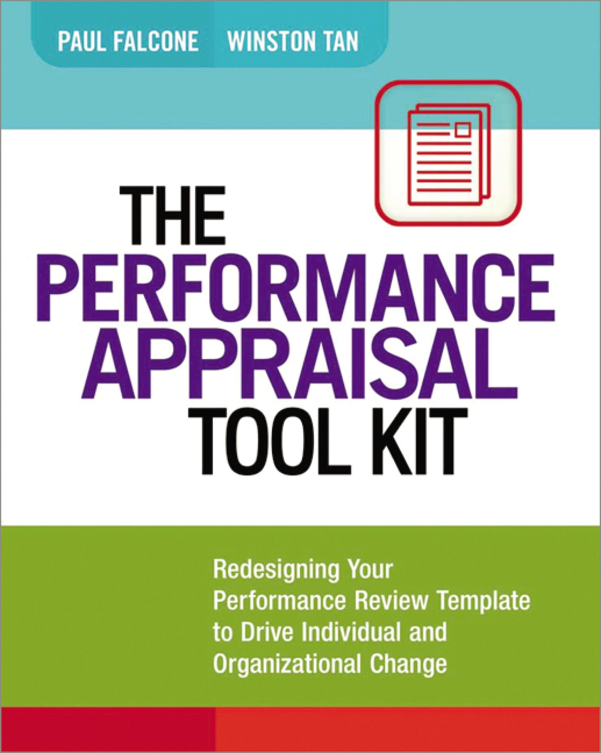 The Performance Appraisal Tool Kit Redesigning Your Performance
