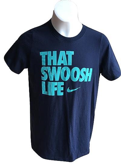 76061c63 Amazon.com: Nike Boys Graphic T-Shirt 'That Swoosh Life' Tee 878182 ...