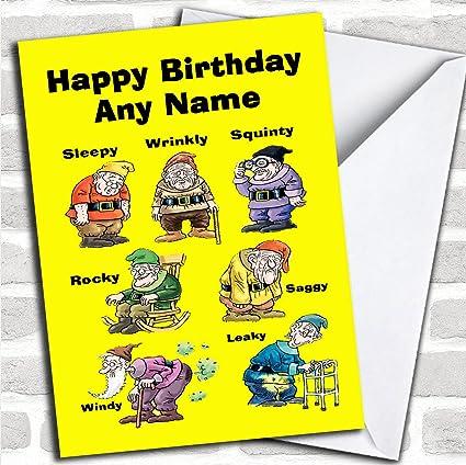 Divertida tarjeta de felicitación de cumpleaños ...