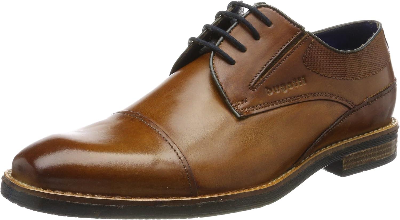 bugatti 312417021100, Zapatos de Cordones Derby para Hombre