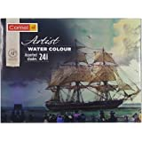 Camlin Kokuyo Artist 5ml Water Color Tube - 24 Shades (Multicolor)