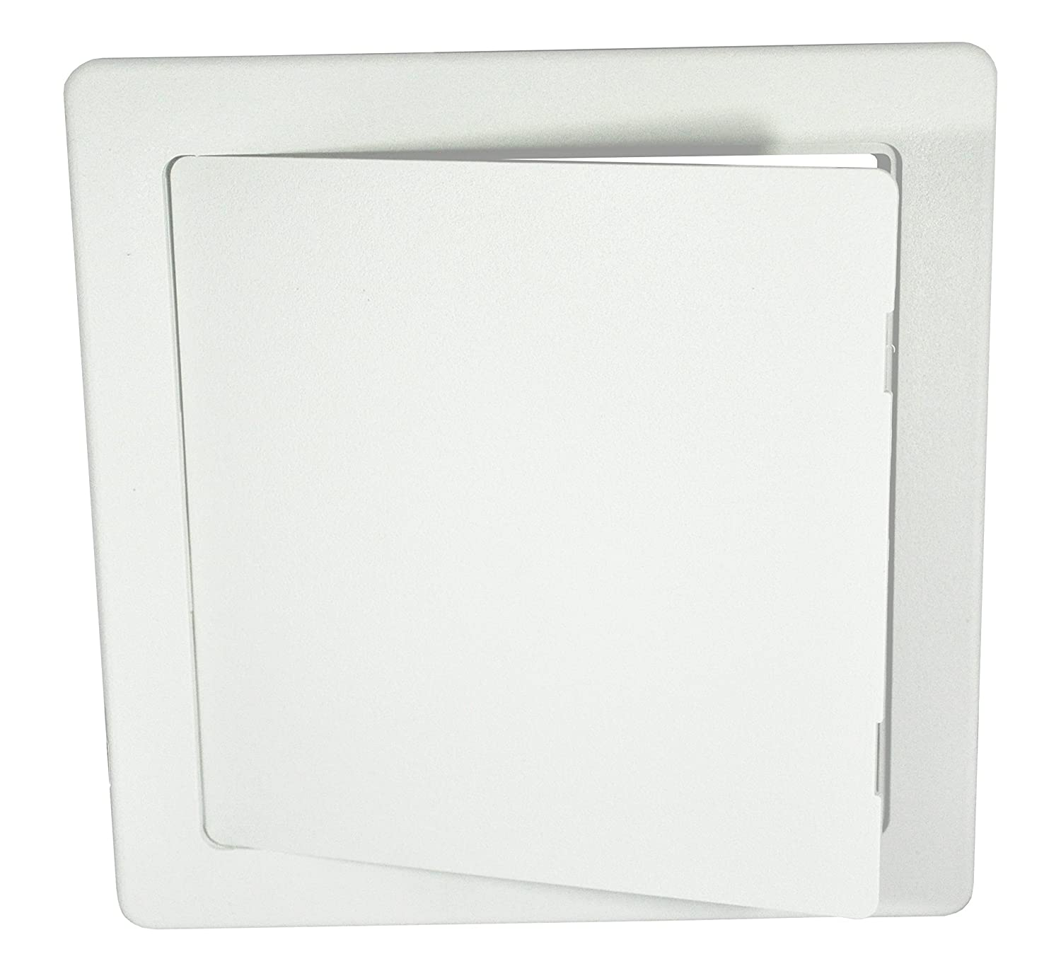 Surface Fit White ABS Plastic Access Panel / Inpsection Hatch 300mm x 300mm (12' x 12') - Hide: taps, valves, wiring, meters etc.... Hardware Master