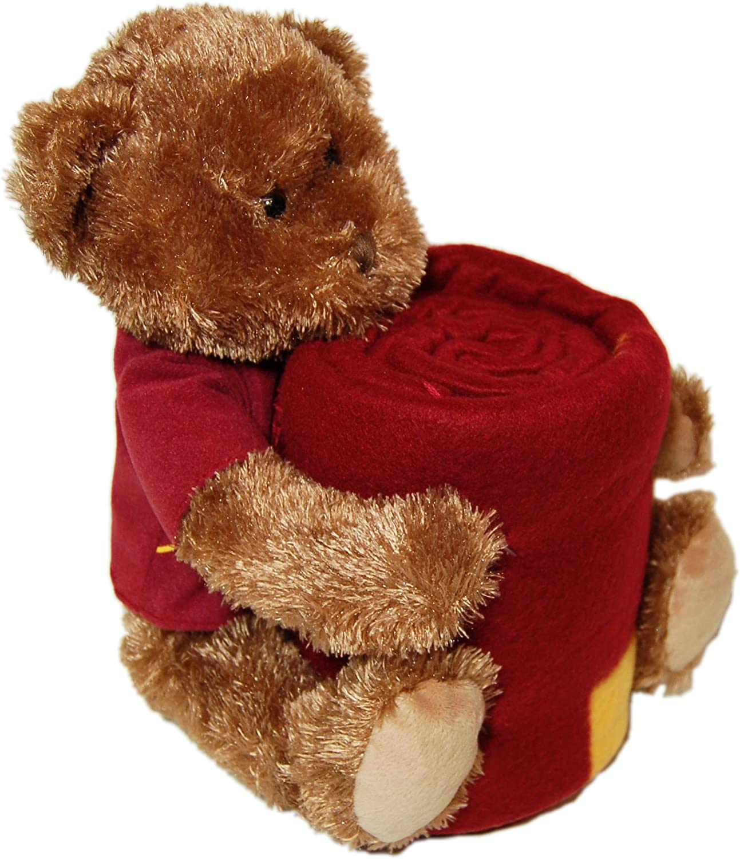 NCAA Minnesota Golden Gophers Mascot Bear Pillow and Throw Combo
