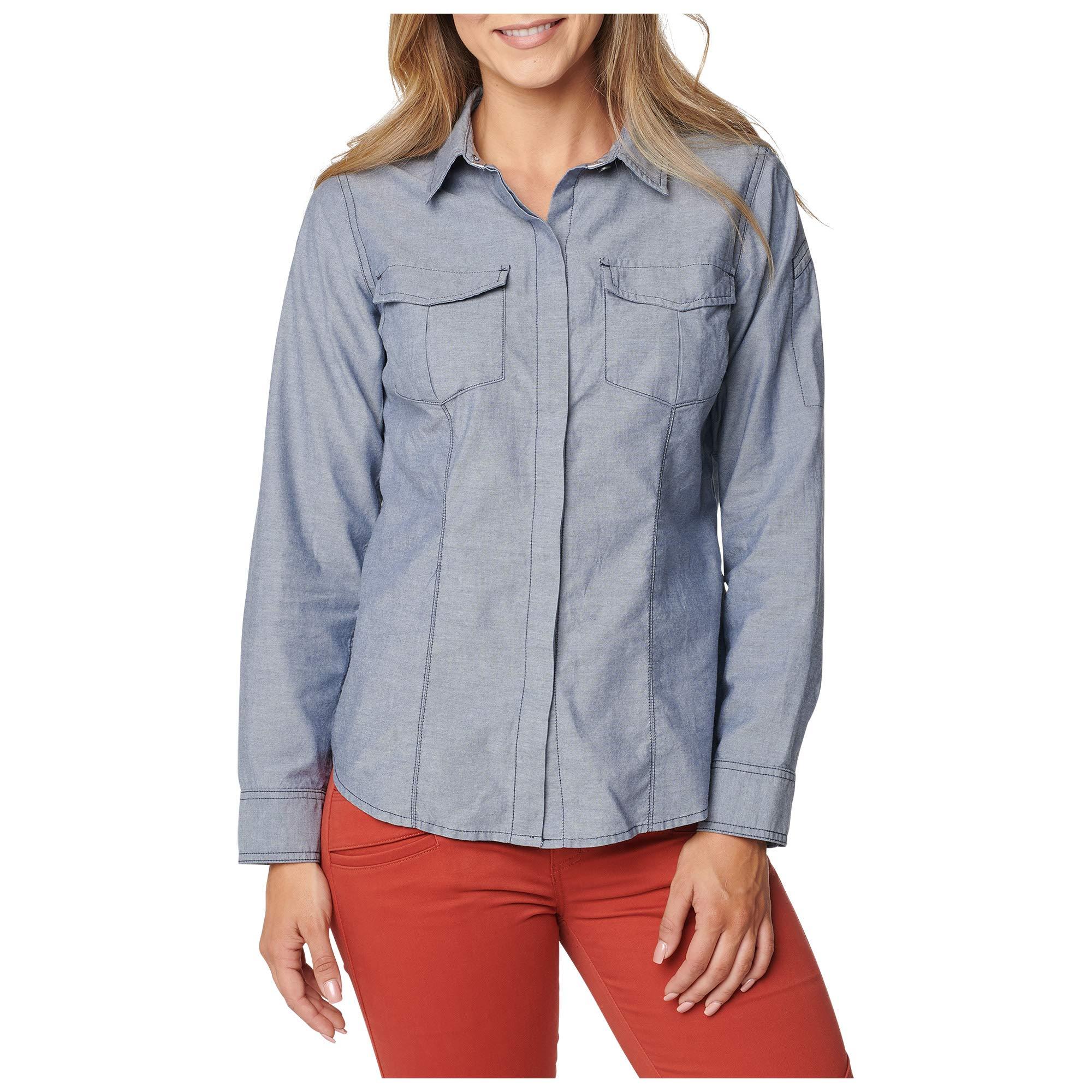5.11 Women's Athena Long-Sleeve Shirt Night Watch (L)