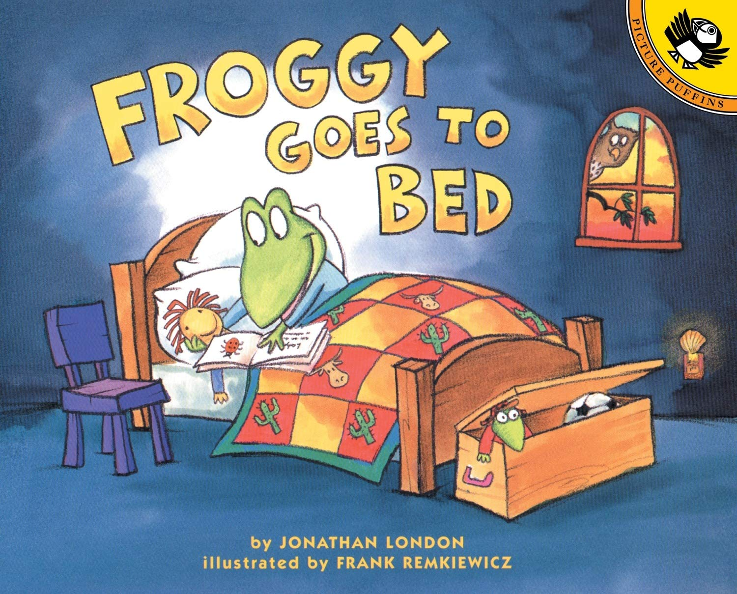 Froggy Goes to Bed: London, Jonathan, Remkiewicz, Frank ...