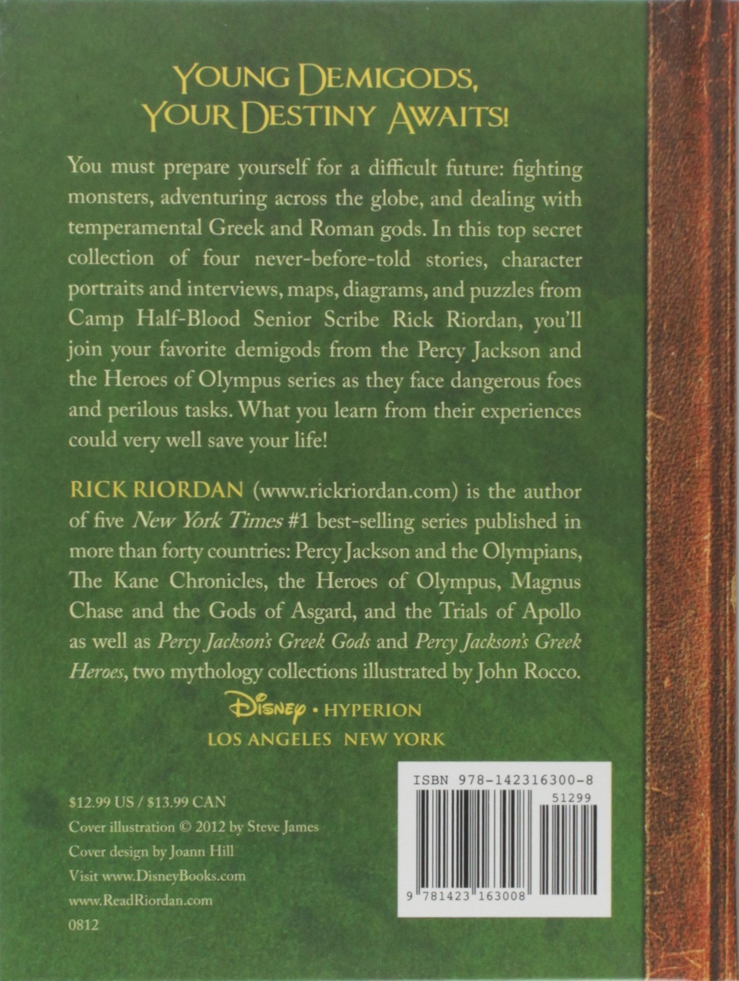 the demigod diaries the heroes of olympus hardcover