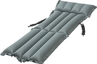 Pavillo Siège Camping Chair 159x 53, 5x 14cm avec Fonction Couchage, Beige/Bleu, 159x 53.5x 14cm 5x 14cm avec Fonction Couchage 159x 53.5x 14cm PAVI8|#Pavillo 69013