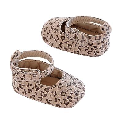 Amazon.com: Carter s Boys bebé suave suela, Marrón: Shoes