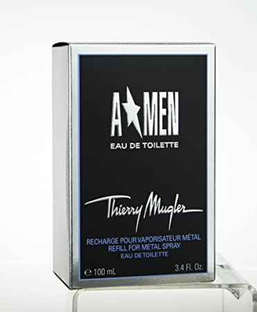 d622d3bc0b Amazon.com : Thierry Mugler Angel Men Eau de Toilette EDT Spray 3.40oz /  100ml : Beauty