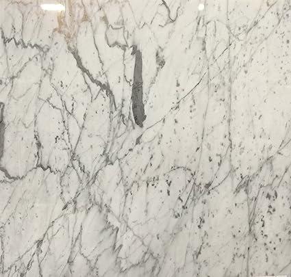 Italian White Carrara Marble Polished 12 X 12 Floor Tiles Lot Of