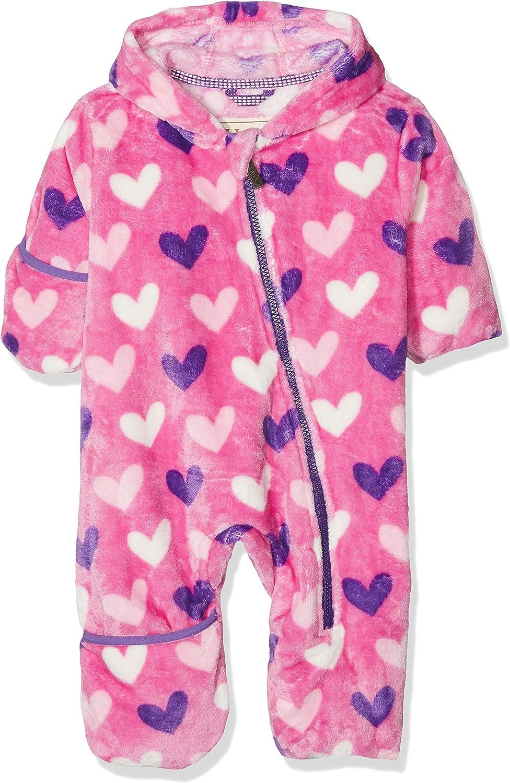 Hatley Baby Fleece Bundler Multi Hearts