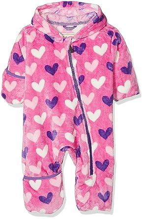 4b35832c669b Hatley Girls  Fuzzy Fleece Baby Bundlers Jacket  Amazon.co.uk  Clothing