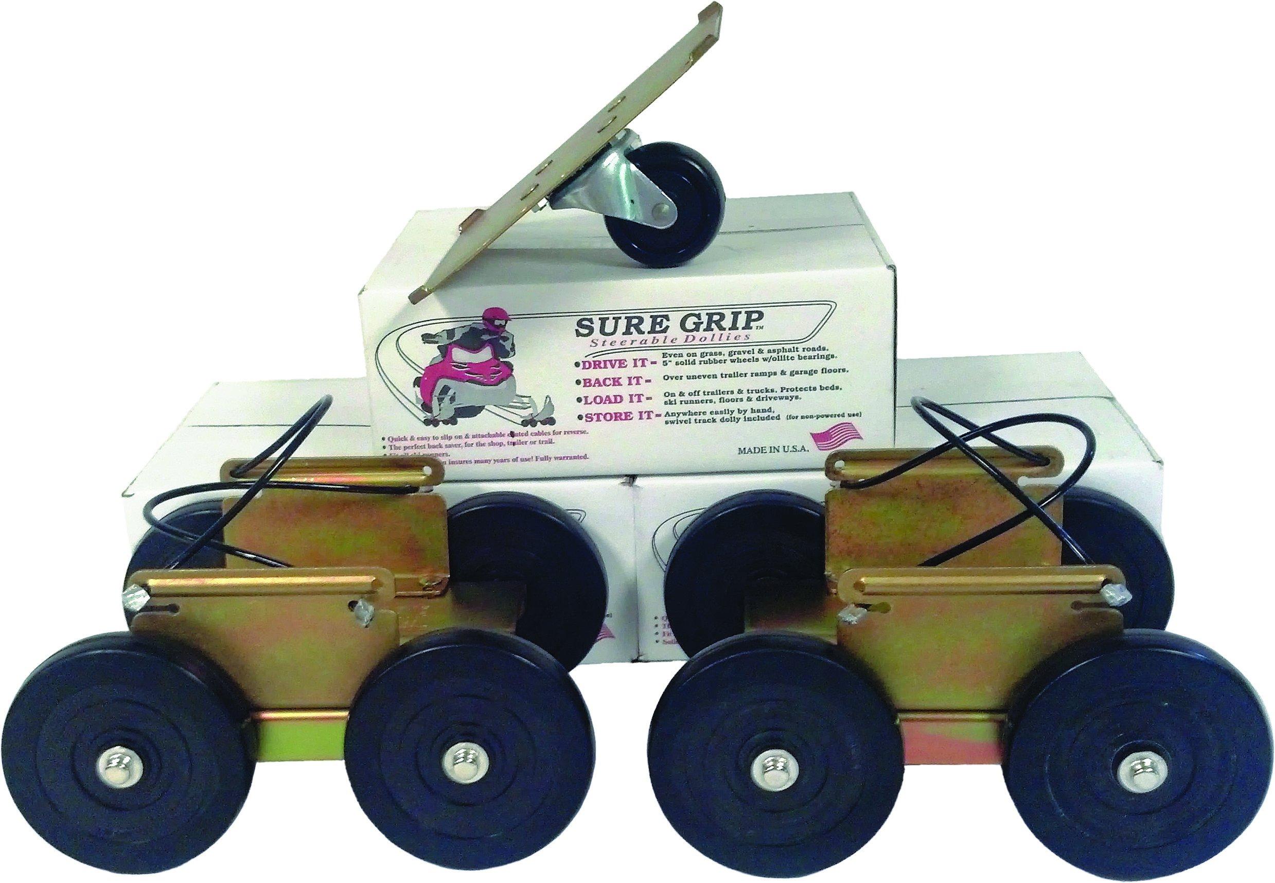 Sure Grip Dollies Drivable Dolly - 3 Piece Long Set PS-6112