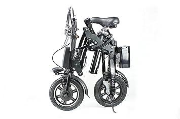 Pro® KwikFold 30,48 cm ruedas bicicleta plegable eléctrica de aluminio, color -