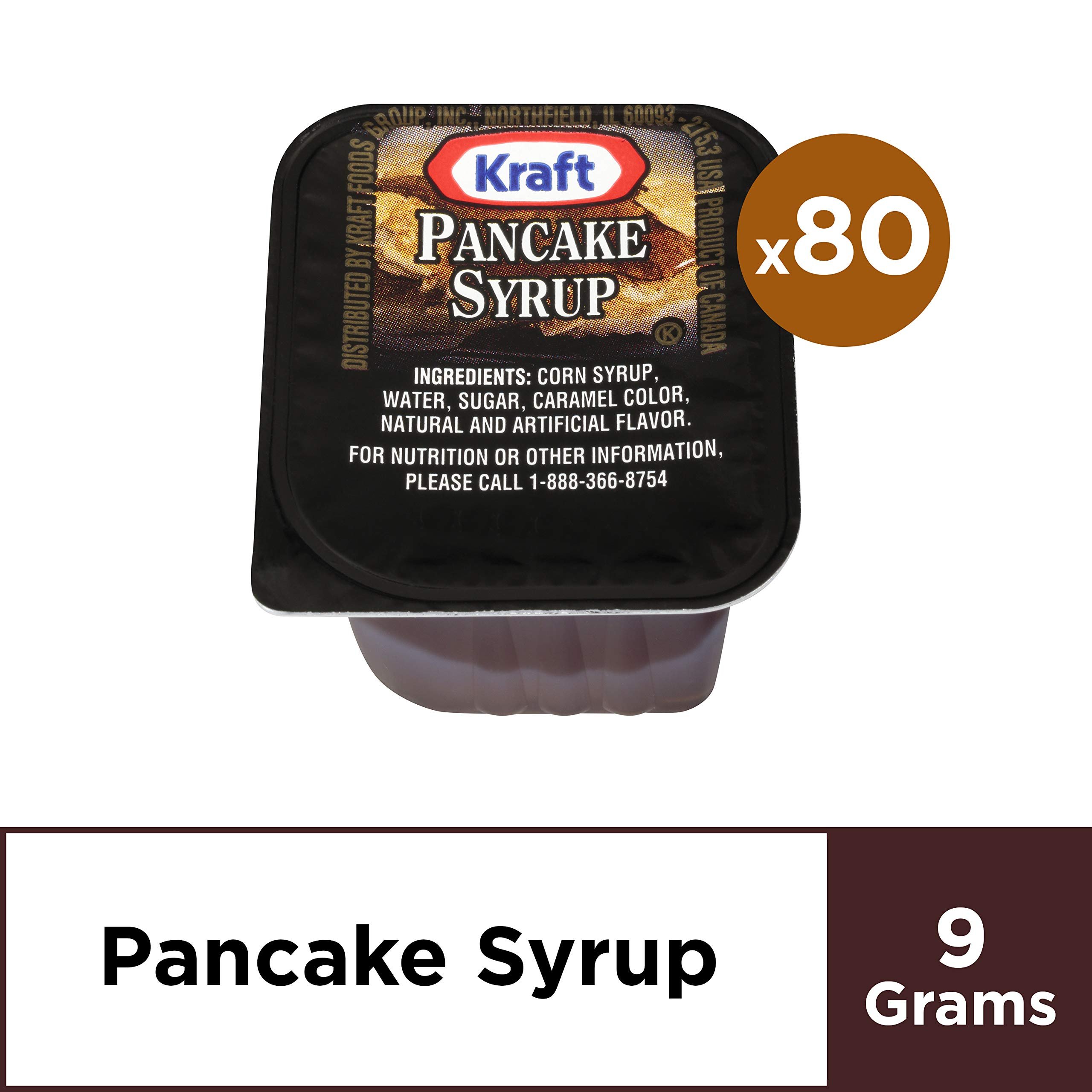 Kraft Table Syrup (2 oz Packets, Pack of 80) by Kraft (Image #1)