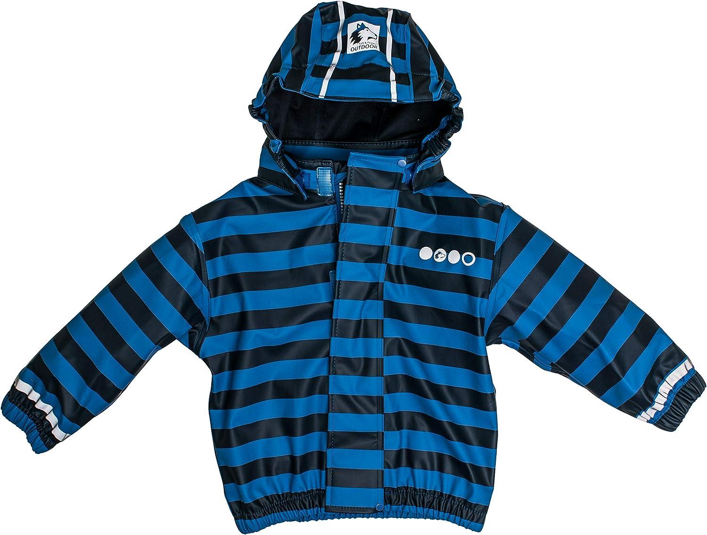 Salt & Pepper Jacket RB B Boys Stripe Chaqueta Impermeable Unisex bebé