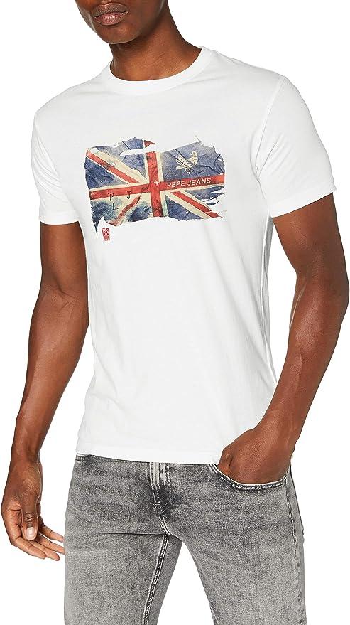 TALLA M. Pepe Jeans SID Camiseta para Hombre