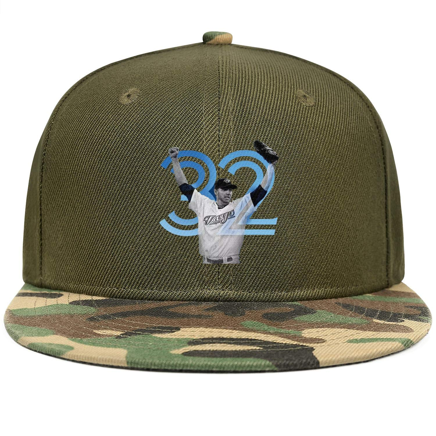 FengY Unisex Roy Halladay32 Adjustablecowboy Hat Outdoor Trucker Cap Snapback Hat
