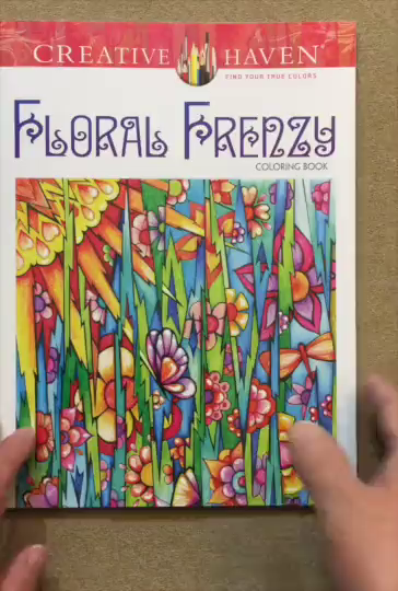 Floral Frenzy Is My Second Adult Coloring Book By Miryam Adatoo In The Creative Haven Line As With Other Fanciful Faces