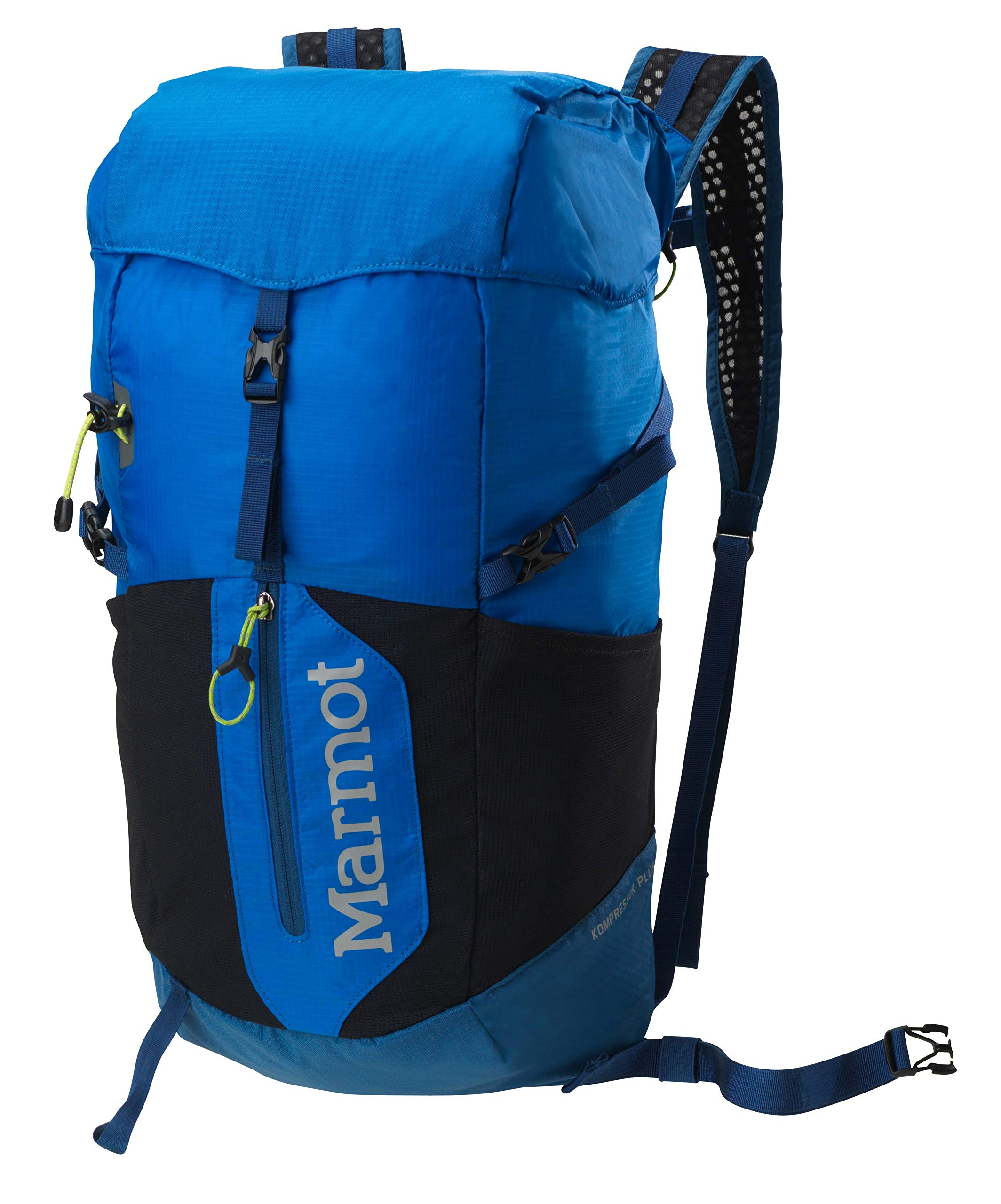 Marmot Kompressor Plus Lightweight Hiking Backpack, Peak Blue/Dark Sapphire by Marmot