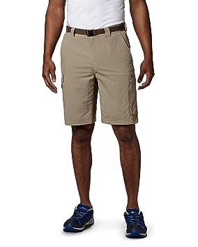 Columbia Men's Silver Ridge Cargo Short, Tusk, 30x12 Trousers