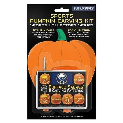 amazon com boelter brands nhl buffalo sabres pumpkin carving kit