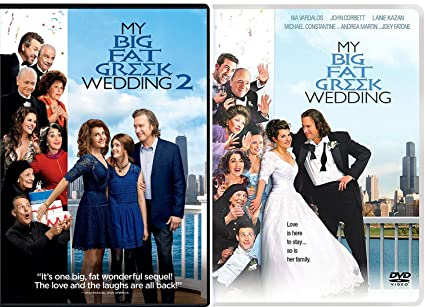 My Big Fat Greek Wedding 2.Amazon Com The Portokalos Family Double Feature My Big Fat