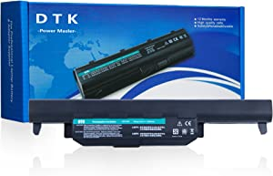 DTK 10.8V 5200mAh Laptop Battery for ASUS R500V A45 A55 A75 K45 K55 K75 R400 R500 R700 U57 X45 X55 X75 Series (P/N A32-K55 A33-K55 A41-K55 A42-K55)