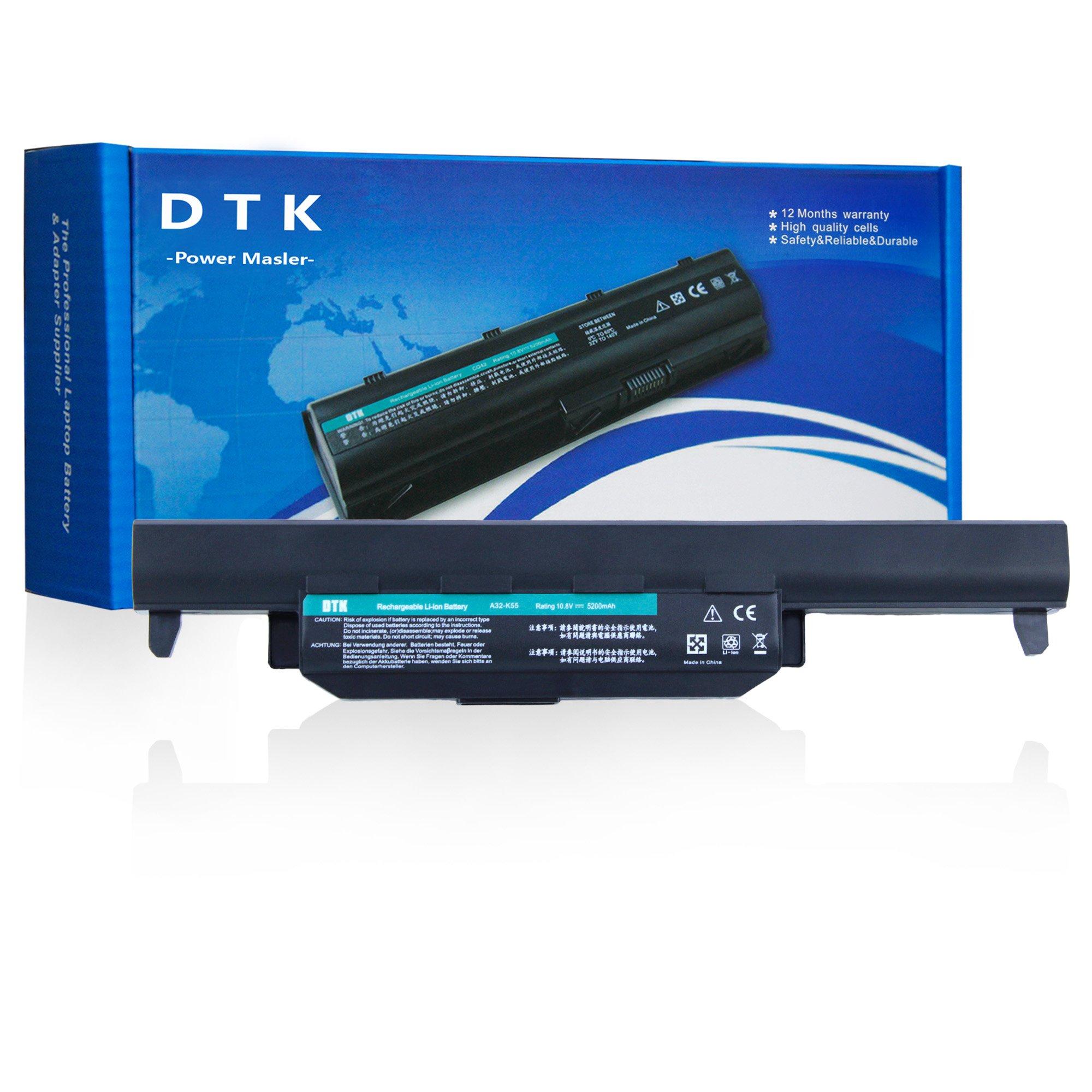 Bateria 10.8V 5200mAh para ASUS R500V A45 A55 A75 K45 K55 K75 R400 R500 R700 U57 X45 X55 X75 Series P/N A32-K55 A33-K55
