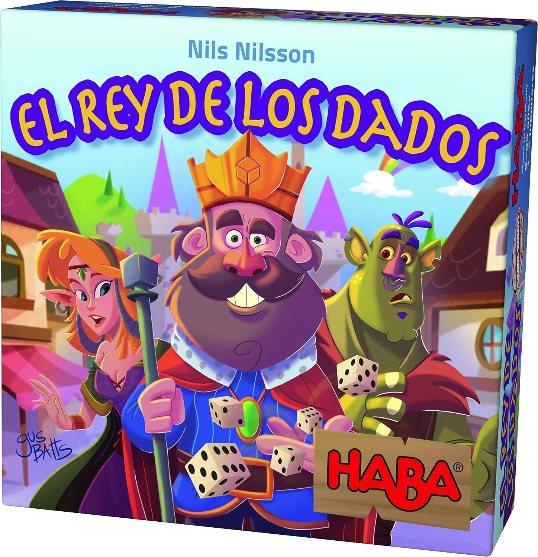 HABA- Juego de Sociedad El Rey de los Dados, Talla Única (303805 ...
