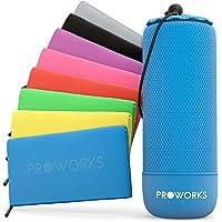 Proworks Mikrofaser Handtücher, Ultra leicht & Schnelltrocknend, Sauna Handtücher für Reise, Strand & Sport, Microfibre Gym Towel, Fitness Handtuch und Sporthandtuch inkl Tasche