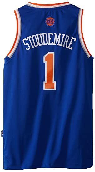 f11ea8537e9 Amazon.com   NBA New York Knicks Amar e Stoudemire Swingman Road ...