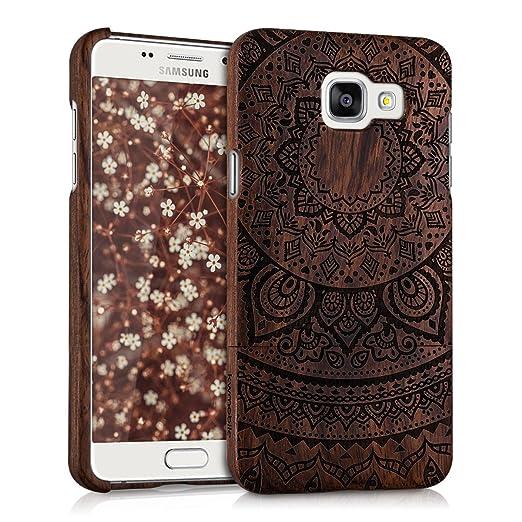11 opinioni per kwmobile Custodia in legno per Samsung Galaxy A5 (2016) Cover legno naturale
