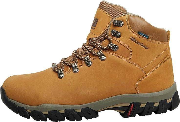 Nubuck Weathertite Hiking Boots Brown
