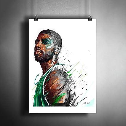 ed32496982765 Amazon.com: Kyrie Irving NBA Basketball Art Poster Photo Print Decor ...