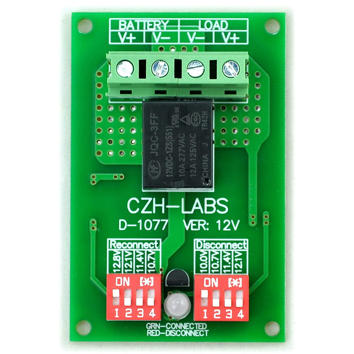 Low Battery Voltage Cutout Circuits